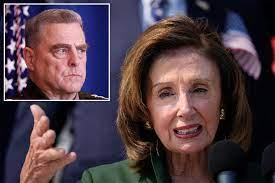 Is Nancy Pelosi pulling Gen. Mark ...