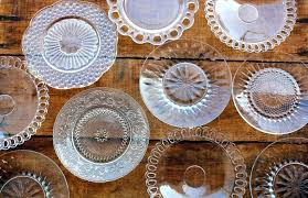 glass dessert plates clear glass square dessert plates