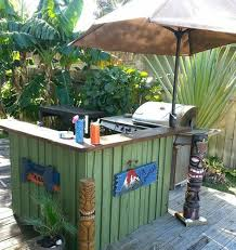 beach bar ideas beach cottage. simple bar a tiki bar made from pallets simple sun umbrella takes the place of a  thatched grass roof on beach ideas cottage e