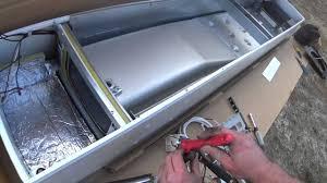 Gas Wall Heater Installation Hvac Installation Williams Propane Wall Furnace Youtube
