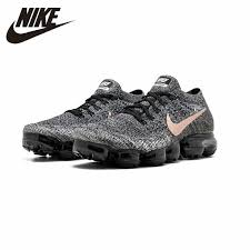 Nike Air Vapor Max <b>Fly Knit Women's Breathable</b> Running Shoes ...