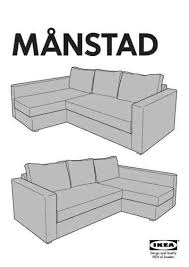 ikea corner sofa bed. PDF Download Manual Furniture IKEA MANSTAD CORNER SOFA BED Click To Preview Ikea Corner Sofa Bed