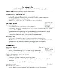 Tradesman Resume Template Tradesman Resume Template Marvelous Resume