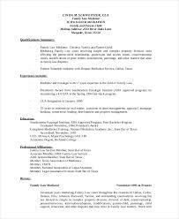 Download Professional Paralegal Resume