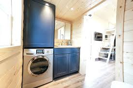 tiny house washer dryer.  Dryer Tiny House Washer Dryer Combo Basics The Bathroom  Has Enough Room For   To Tiny House Washer Dryer