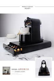 40-60 adet Nespresso kahve kapsülü çekmece kutusu Nespresso kahve makinesi  tabanı Nestle metal depolama rafı
