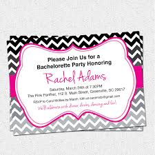 Bachelorette Party Invitations Bridal Shower Birthday