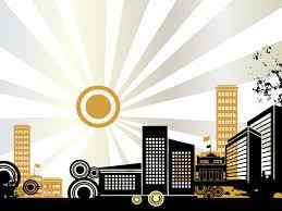 Architectural Powerpoint Template Architecture Design Powerpoint Templates Black Buildings