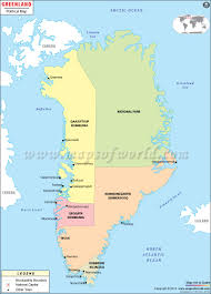 where is greenland location of greenland