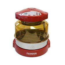 Nuwave 20636 Pro Plus Oven With Stainless Steel Extender Ring Kit Red