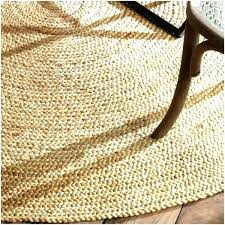 round natural fiber rug 8 round jute rugs photo 5 of 9 natural fiber braided reversible