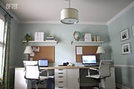 home office furniture for two. Excellent Two Desk Home Office Design Bedroom Desks Small Person Furniture For