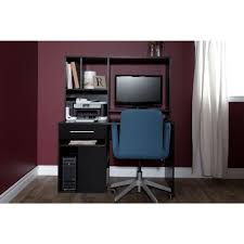 home office black desk. South Shore Annexe Pure Black Desk Home Office C