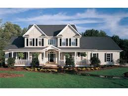 Farmhouse Plans and Farm House Plans at Dream Home Source    Country Farmhouse plans are as varied as the regional farms they once presided over  Born on hundred acre spreads in rural America  family friendly