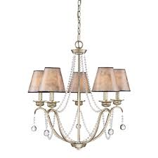 quoizel jenna 25 8 in 5 light gold country cottage tiered chandelier
