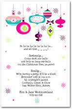 Ornaments Holiday Invitations Christmas Ornaments Party
