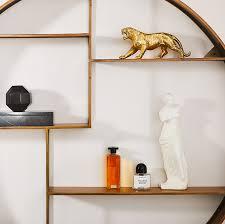seven modern floating shelf ideas cb2