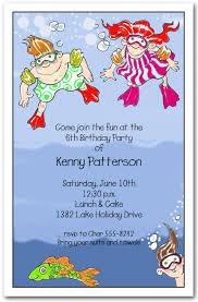 children party invitation templates invitation to kids party underwater swim kids party invitations swim