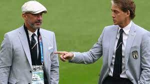 """كأس أوروبا: مانشيني وفيالي """"توأما التهديف"""" يبحثان عن مجد ويمبلي الضائع -  فرانس 24"""