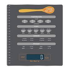 Measurement Calculation Chart Amazon Com I Star Digital Nutrition Kitchen Electronic