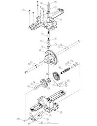 Mtd 13an601h729 2006 parts diagram for transmission assembly zoom