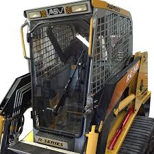 cab enclosures and cab heaters for skid steer loaders skid steer asv terex skid steer replacement cab