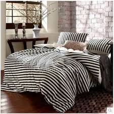 classic comforter sets best chic black and white striped teen full bedding 16