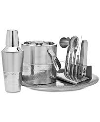 Godinger Stainless Steel <b>9</b>-Pc. <b>Bar</b> Tools <b>Set</b> & Reviews - <b>Bar</b> ...