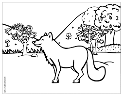 Small Picture Forest Animals Coloring Pages Inside In glumme