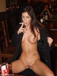 Fuck my wife in a bar