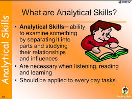 What Is An Analytical Skill Skills For Real World Survival Interpersonal Skills