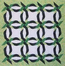 Paper Panache Paper-Pieced Woven Double Wedding Ring Quilt Pattern & woven double wedding ring Adamdwight.com
