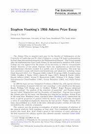 stephen hawking essay stephen hawking essay essay stephen hawking  stephen hawking essay essay hawking phd thesis