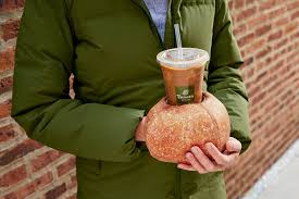 Taco bell may not be the first thing you think about when you wake up in the morning, but that needs to change. Panera Made A Bread Bowl Glove To Carry Iced Coffee Food Wine
