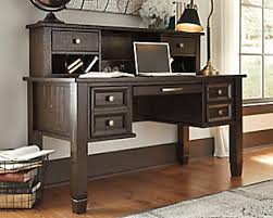 ... large Townser Home Office Desk with Hutch, , rollover