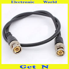monitor wiring promotion shop for promotional monitor wiring on 5pcs 0 5m gilt gilded american standard bnc wire jumper for cctv system american style monitor connector wire finished product