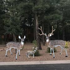 aluminum garden statues