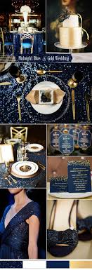 Blue And Gold Table Setting 17 Best Ideas About Blue Gold Wedding On Pinterest Navy Gold