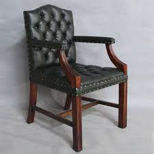 classic office chair. Solid Mahogany Wood Office Chair / Classic Pre-Order A