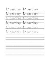 Handwriting Worksheet Maker 10 Fonts4teachers