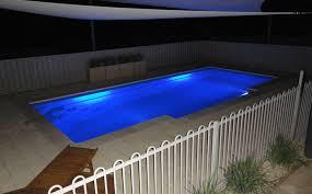 inground pools at night. Inground Pools At Night