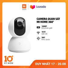 Camera giám sát Xiaomi Mi Home 360 độ 1080P l Thẻ nhớ Micro SD hỗ trợ 64GB  l Hỗ trợ kết nối wifi l HÀNG CHÍNH HÃNG - Hàng Nhật Giá Tốt
