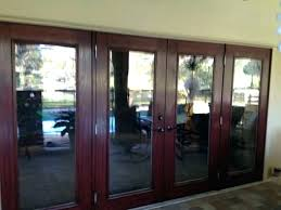 french doors with blinds inside glass for new ideas fiberglass door sliding replacement parts i