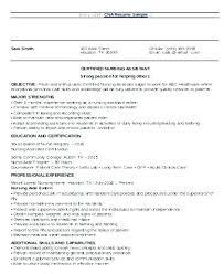 Sample Nursing Resume Objective Sample Nursing Resume Objectives ...