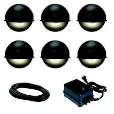 paradise landscape lighting. Lighting:Low Voltage Outdoor Lighting Kits Led Landscape Garden Paradise Plug In Pathway Light Black C
