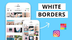 how to white borders on insram photos using preview app
