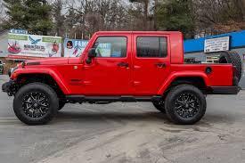 jeep jk ext conversion 4 door wrangler w truck bed