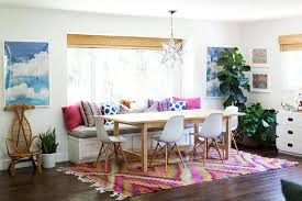 decorate by number california eclectic dining room the budget