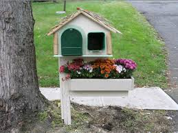 cool mailbox designs. Image Of: Cute Mailbox Post Ideas Cool Designs
