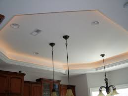 tray ceiling lighting look for a chrome nut to replace white one that is  currently holding